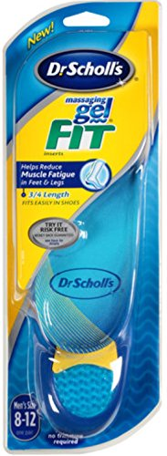 Dr. Scholl's Massaging Gel Fit Insoles for Men