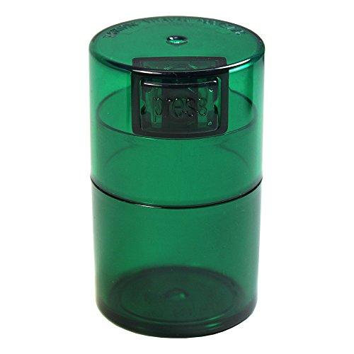 TV0-CGT Vitavac - 5g to 20 gram Vacuum Sealed Container Green Tint