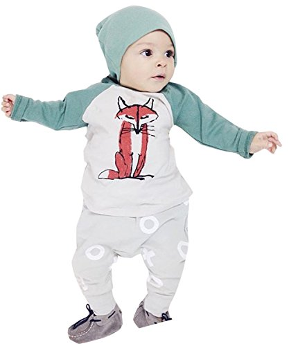 [Hot Boy Toddler Soft Cotton Clothes Cute Romper Jumpsuit Newborn Outfits Clothes (18-24 month)] (Cute Santa Outfits)