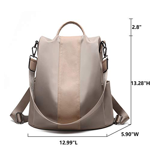 Charmore Women Backpack Purse Waterproof Nylon Schoolbags Anti-theft Rucksack Shoulder Bags by Charmore (Image #3)