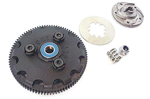 Traxxas Slash 1/10 2wd 58034-2 Complete 90T Tooth Spur Gear Set Slipper ()