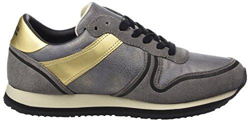 Steel para Grey Jeans Tommy 1c2 L1385agoon Zapatillas Mujer Gris qTqUZx