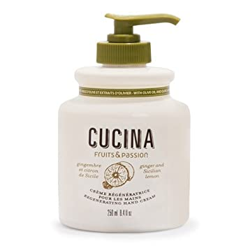 Amazon.com : CUCINA Regenerating Hand Cream - 8.8 fl.oz. - Ginger ...