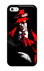 Hot hellsing gothic anime Anime Pop Culture Hard Plastic iPhone 5/5s cases