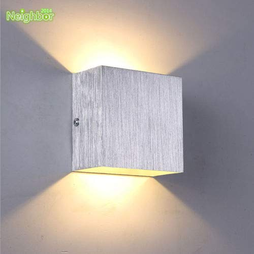 FidgetFidget LED Bedroom Wall Lamp Bedside Hallway Ceiling Lights TV Back Wall Lighting