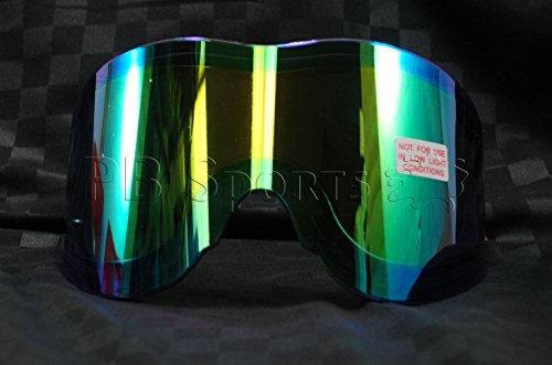 - Paintball Mask Thermal Tinted Lens Empire Vents Antifog Replacement Thermal Green Mirror