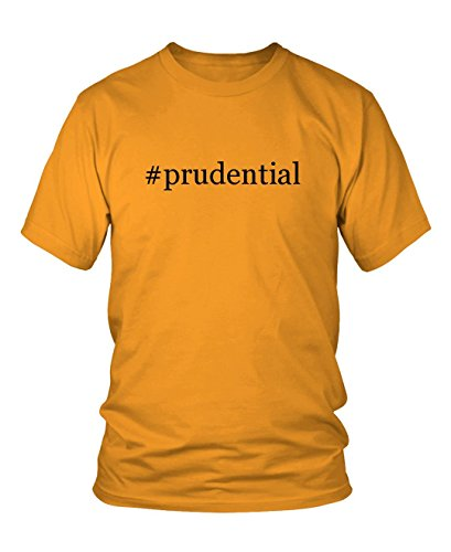 prudential-hashtag-mens-adult-short-sleeve-t-shirt-gold-medium