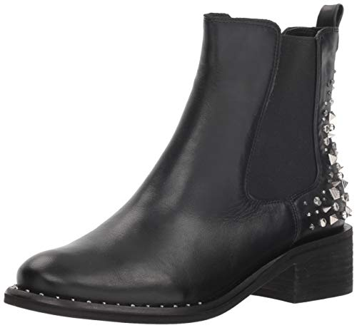 Dover Cast - Sam Edelman Women's Dover Chelsea Boot, Black Leather, 7 M US