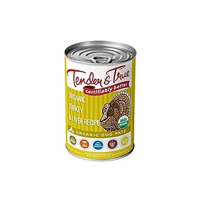 Tender & True Organic Turkey & Liver Recipe Canned Dog Food