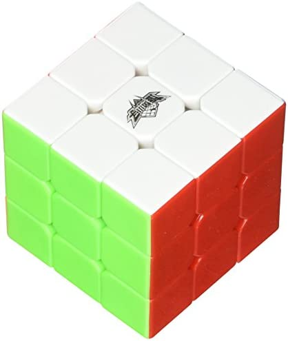 Vdeal 3x3x3 Stickerless Rompicapo Traccia Cubo Magico Divertente Formazione Magic Cube Puzzle