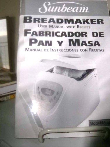 sunbeam bread maker 5891 - 8