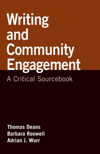 Writing and Community Engagement: A Critical Sourcebook