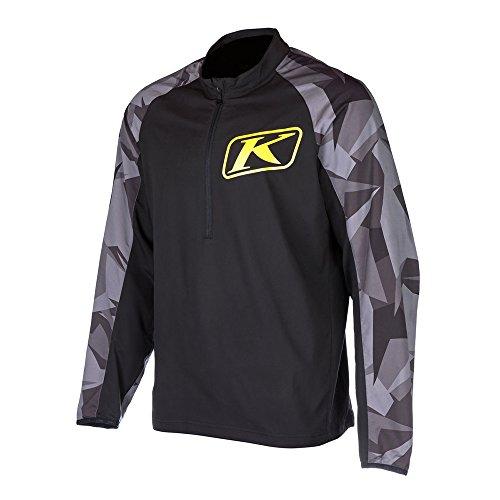 Klim Revolt Men's Ski Snowmobile Jersey - Black / 2X-Large