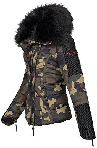 Giacca B386 Invernale Arrmy Camouflage Navahoo Da Donna Calda Trapuntata dBSUYqwO