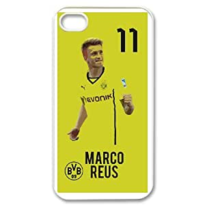 IPhone 4,4S Phone Case for Classic theme BVB 09 Marco Reus pattern design GQCTMRS756408