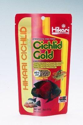 """HIKARI SALES U.S.A,INC - CICHLID GOLD (MINI 2 OZ) """"Ctg: AQUATIC PRODUCTS - AQUATICS - FISH FOOD/FEEDERS"""""""