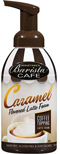 Cappuccino Topping (BARISTA CAFÉ CARAMEL LATTE FOAM TOPPING)