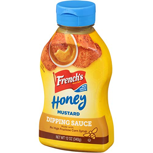 French's Honey Mustard Dipping Sauce (Snack Dip), 12 oz (Pack of 8)