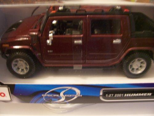 2001 Hummer H2 Sut - Maisto Special Edition 1:27 2001 Hummer H2 SUT Concept ~ Maroon