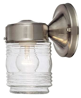 Hardware House 54 4692 Jelly Jar One Light Outdoor Wall