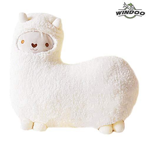 SAVYOU White color Aunt Merry Mokomoko Llama Alpaca Hug Pillow Cushion Doll by zZZ