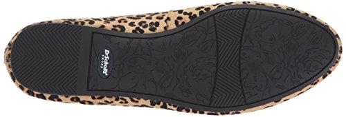 Leopard Giorgie Hair Tan Pony Scholl's Dr Women's Flat Black w4TYYgqx