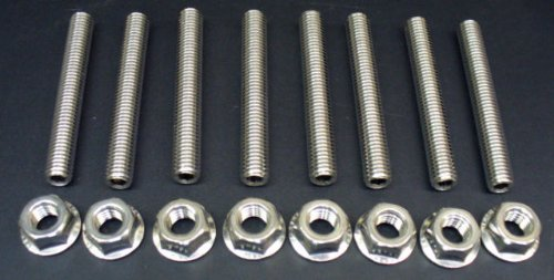 Ford 4.6 & 5.4 Liter V8 Stainless Exhaust Manifold Studs Stud Kit (one side)