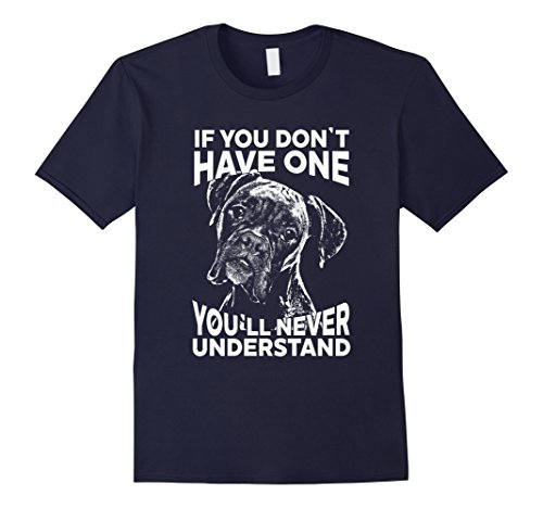 Men's Boxer Dog Shirt | If you don't have one funny boxer tshirt XL Navy (Boxer Dog Shirts)