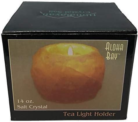 Boxed. New Himalayan Salt tealight holder