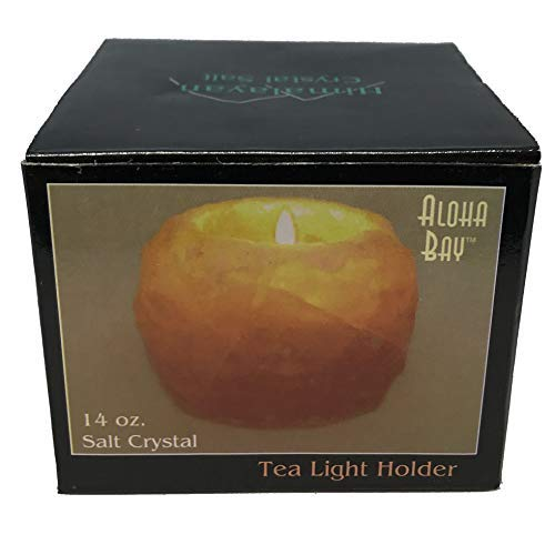 Aloha Bay, Mini Salt Tea Light Holder, 1 Count ()