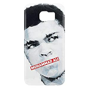 Loud Universe Samsung Galaxy S6 3D Wrap Around Muhammad Ali Print Cover - Multi Color