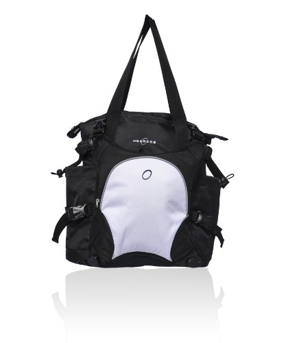 obersee-innsbruck-diaper-bag-tote-with-cooler-black-white