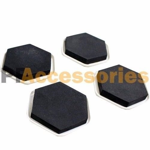 4 Pcs Furniture Slider Pads Magic Movers Floor Protector for Wood Carpet Floor (Patio Tiles Depot Rubber Home)