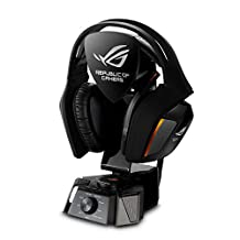 ASUS ROG Centurion True 7.1 Surround Sound Gaming Headset for PC/Console with USB control box