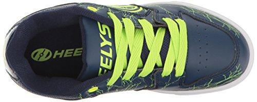 Heelys Motion Plus, Zapatillas Unisex Niños Varios colores (Navy /   Bright Yellow /   Electricity)