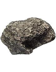 Hudhowks Afleidingssleutel veilig buiten Hider, Hide-A-Key Fake Rock, Sleutelhouder Key Hider Stone, Veilig Verbergen van uw reservesleutels, Lijkt op echte steen veilig voor buiten tuin of Yard Geocaching