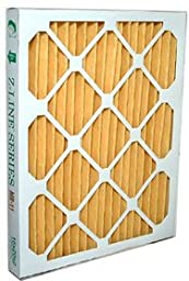 Glasfloss Industries M1116252 Z-Line Series MR-11 MERV 11 Pleated Filter, 12-Case