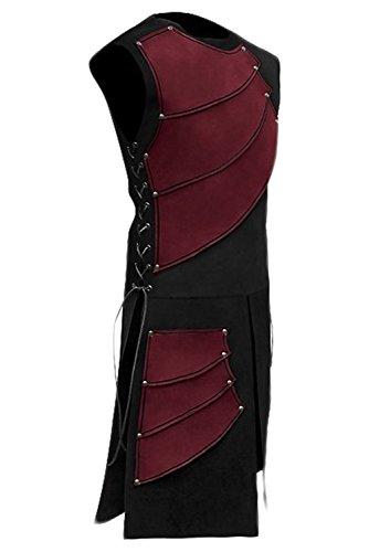 Pingstore Men's Medieval Sleeveless Waistcoats Costume Renaissance Victorian Waistcoats Vests by Pingstore (Image #1)