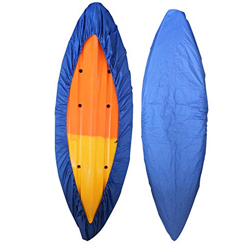 RONGT Kayak Canoe Storage Cover, Waterproof and Dust-Proof UV Sunblock Shield Protector for (3.1-3.5m/9.9-11.4ft) Fishing Boat/Kayak / Canoe ()