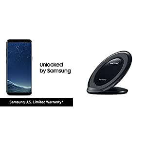 Samsung Galaxy S8 and Qi Certified Fast Charge Wireless Charging Stand