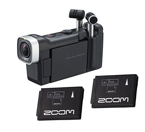 Zoom Q4n Handy Video Recorder with (2x) BT-02 Rechargeable Battery For Zoom Q4 by Willoughby's (Image #3)