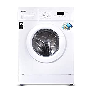 Koryo 8 kg Fully-Automatic Front Loading Washing Machine (KWM1480FL, White,inbuilt Heater)
