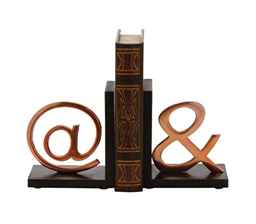Deco 79 37038 Gorgeous Bookend, 6