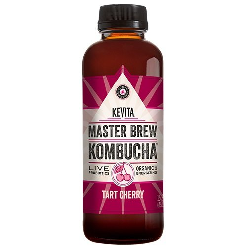 (KEVITA Master Brew Kombucha Tart Cherry, 15.2 Ounce (Pack of 6))