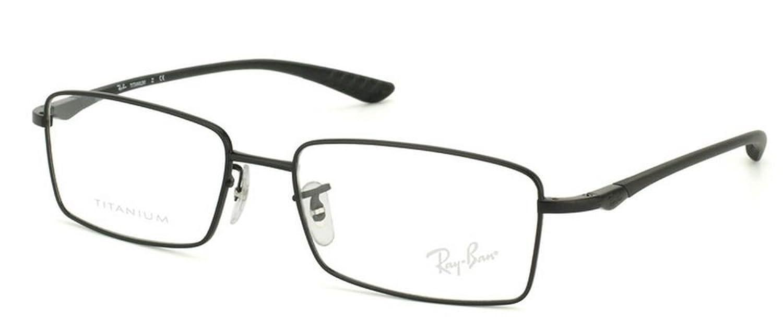 Amazon.com: Ray-Ban RX8705 Titanium Eyeglasses-1012 Black-54mm: Shoes