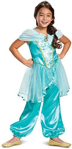 Princess Jasmine Halloween Costume For Toddlers (Disney Princess Jasmine Classic Girls' Costume,)