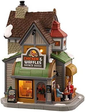 Lemax Village Collection Chicken /& Waffles Brunch House #05688