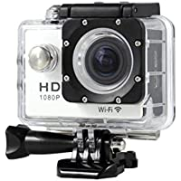 "Boyiya SJ7000 2"" WIFI 1080P HD Action Camera Waterproof Sports DV Pro Camcorder New HOT (White)"