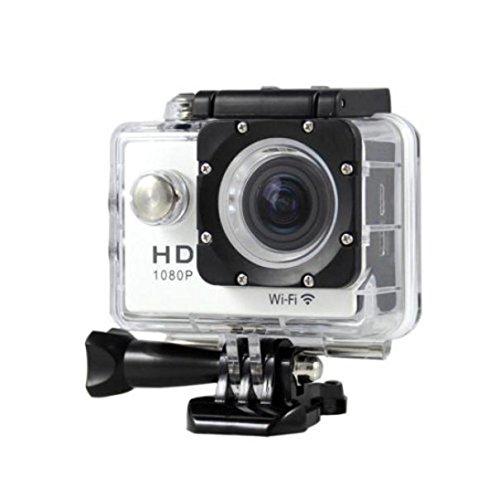 1080p H.264 30fps Full HD Waterproof Wi-Fi Sports Camera (Black) - 9
