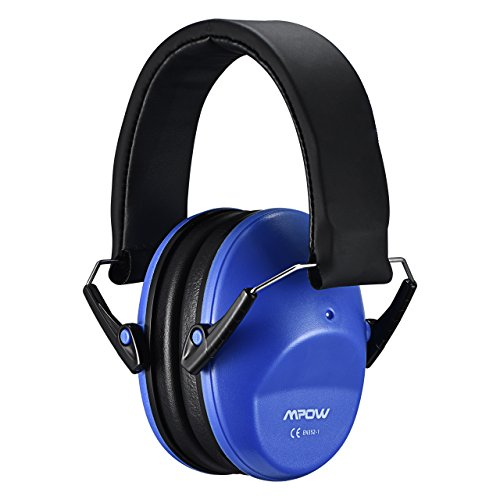 Mpow 068 Kids Ear Protection Safety Ear Muffs, NRR 25dB Noise Reduction Hearing Protection for Kids, Toddler Ear Protection for Shooting Range Hunting Season for Kids Toddlers Children (Royal Blue)